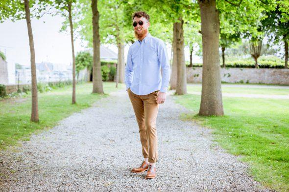 chino homme elegant