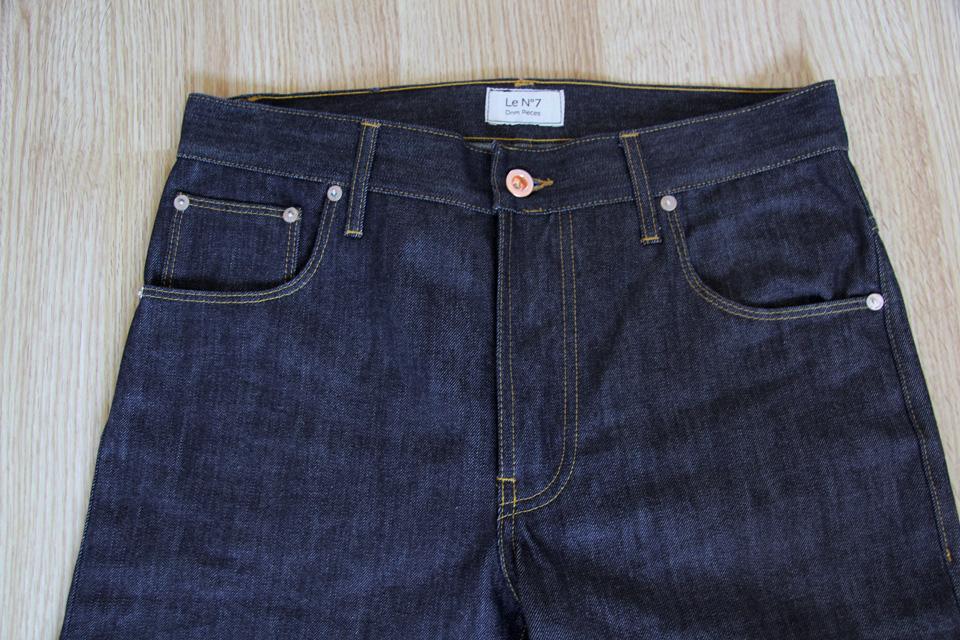 dnm pieces jeans n7 devant