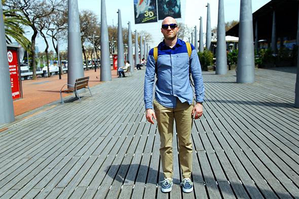 En mode street style