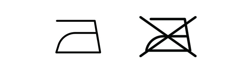 repassage machine symboles