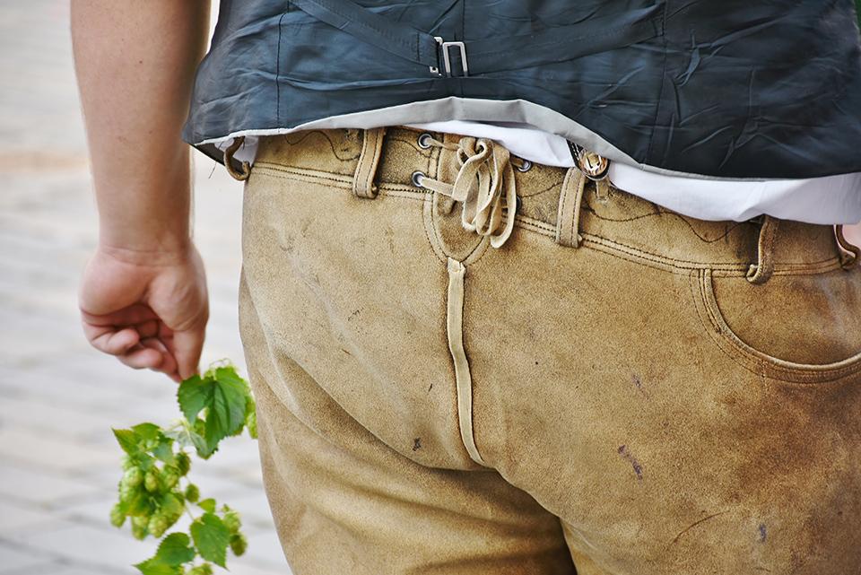 taches pantalon