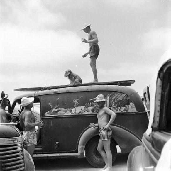 histoire du boardshorts 1960s