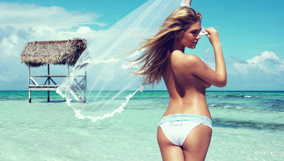 Kate Upton Beachbunny Bridal