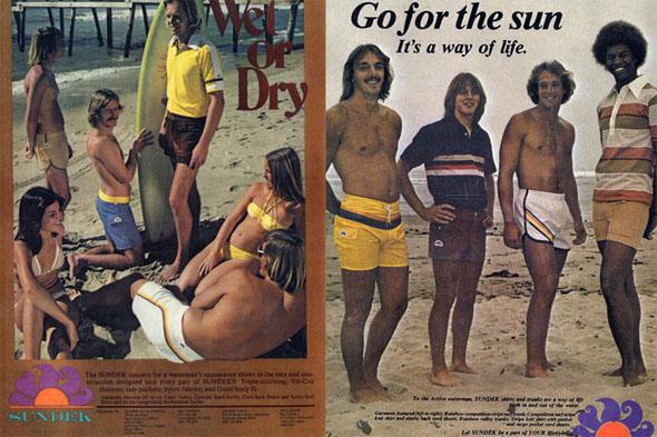 sundek vintage ad