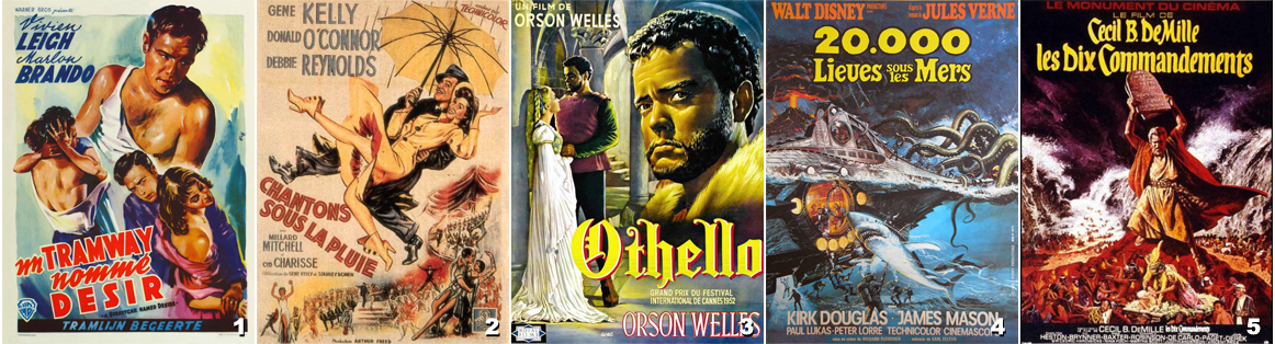 Films années 50 - 1