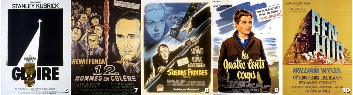 Films années 50 - 2