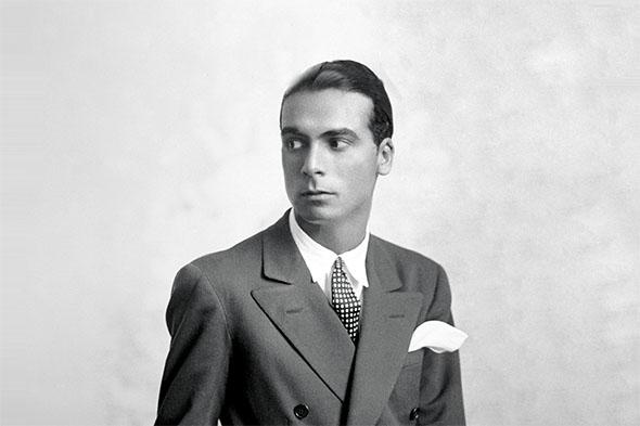 Cristobal Balenciaga dans les années 50