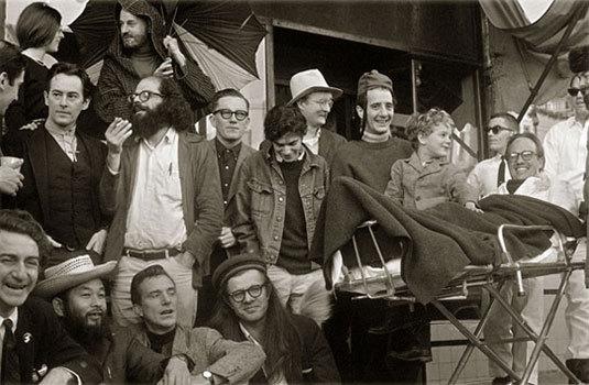 Des beatnik dans les années 50