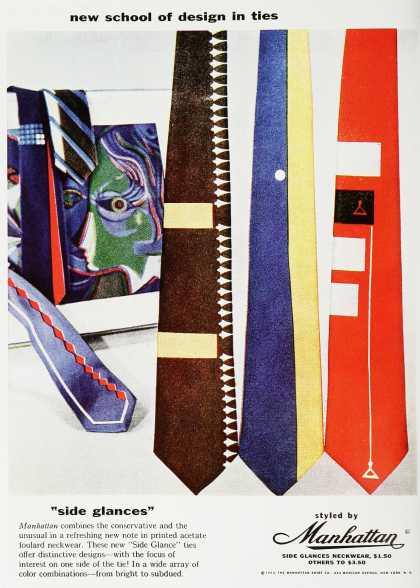 Le début de la cravate fantaisie...