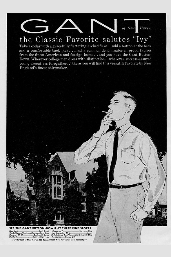 gant vintage ad