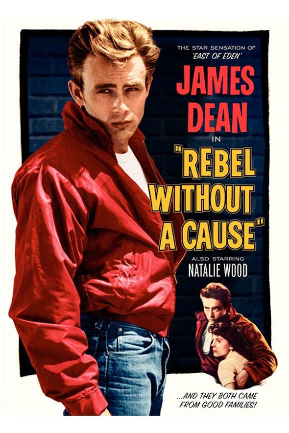 James Dean dans La Fureur de vivre (1955)