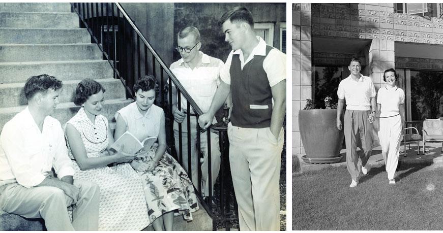 Le look détente au début des années 1950