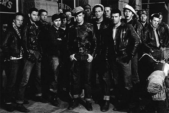 Marlon Brando dans L'équipée sauvage (1953)