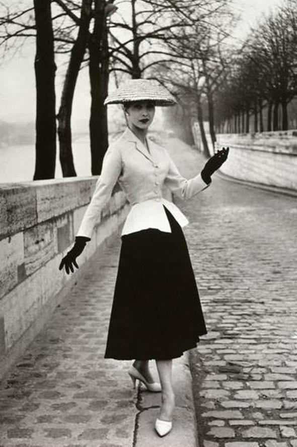 """L'incarnation du """"New Look"""" de Dior"""