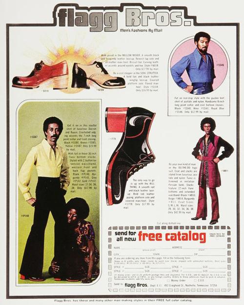 chaussures talon 1970s