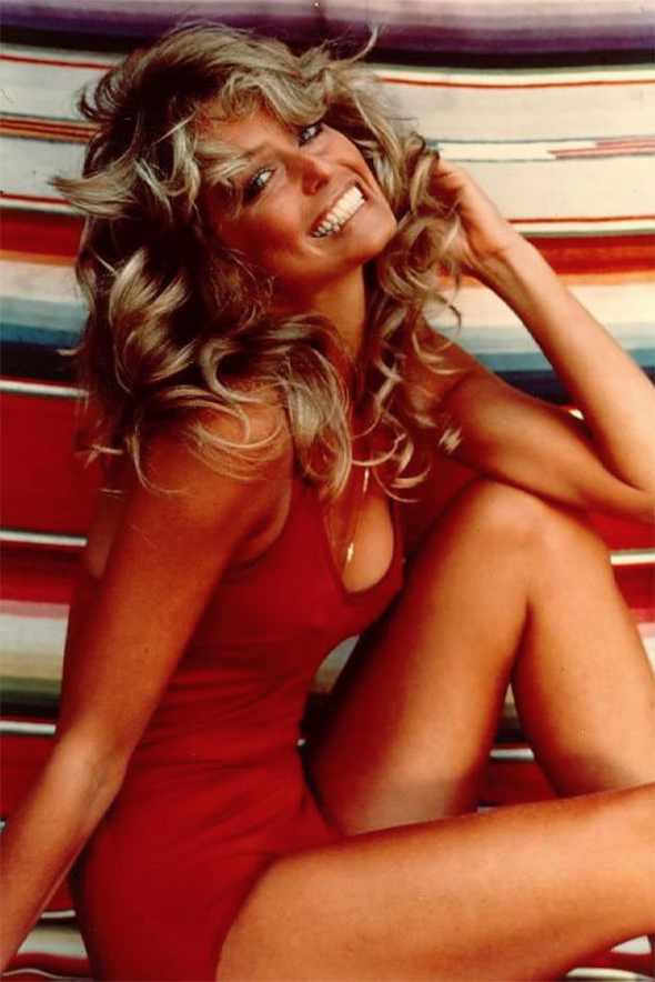 farrah fawcett swimsuits
