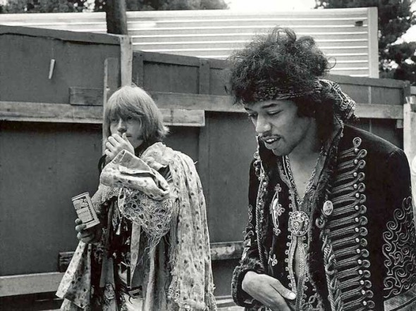 Jimi Henrix, une icone hippie