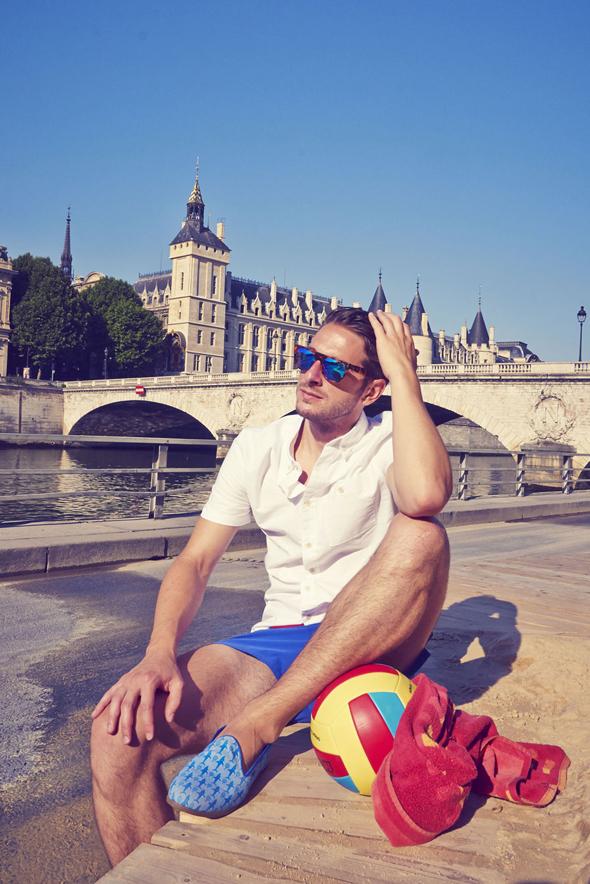 tony paris plages bain de soleil