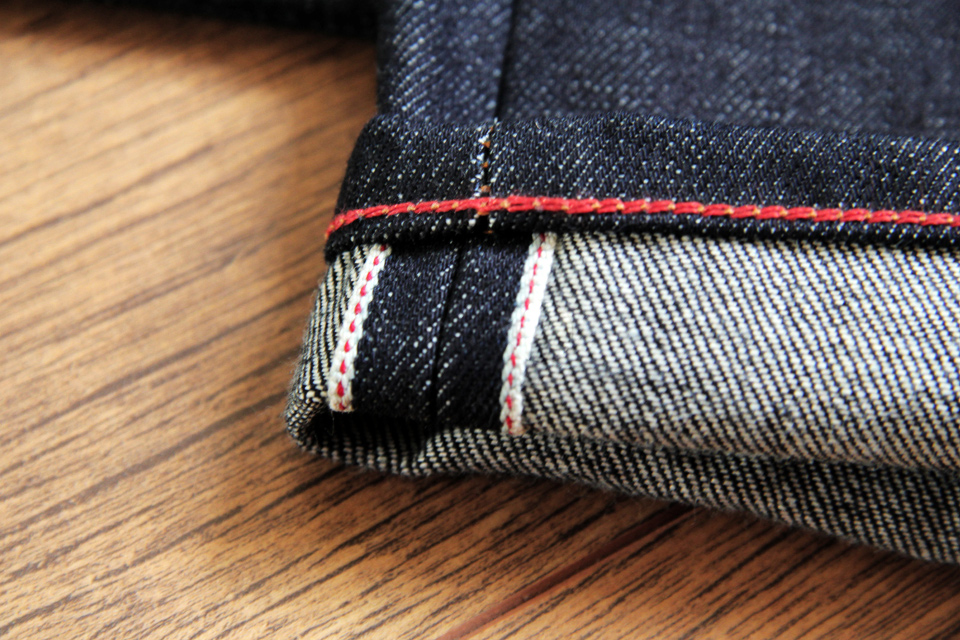 gustin cone mills selvedge 14-75 oz