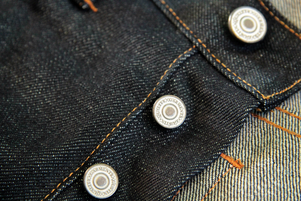jeans gustin boutons