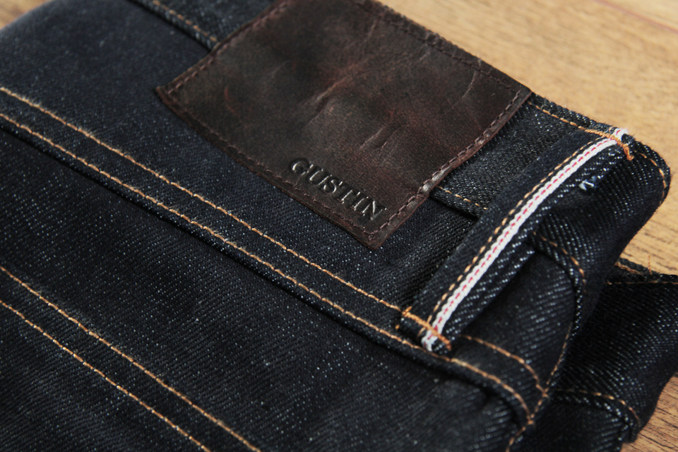 jeans gustin patch