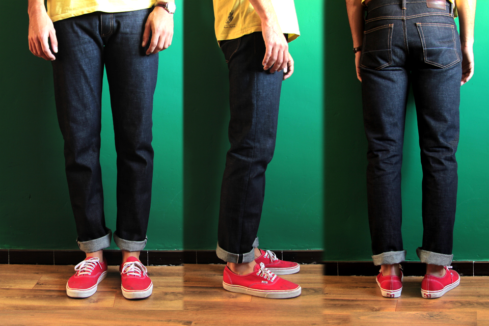 jeans gustin porté