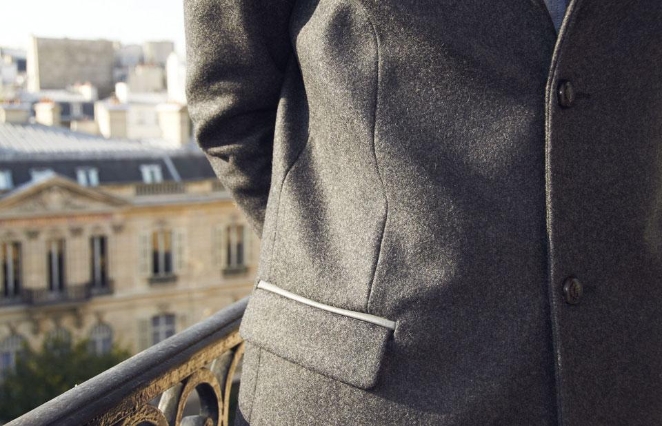 Manteau IKKS poche