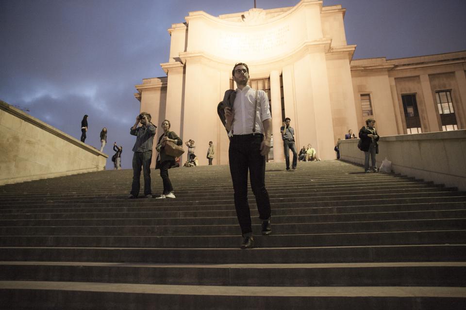 Tony escalier Chaillot