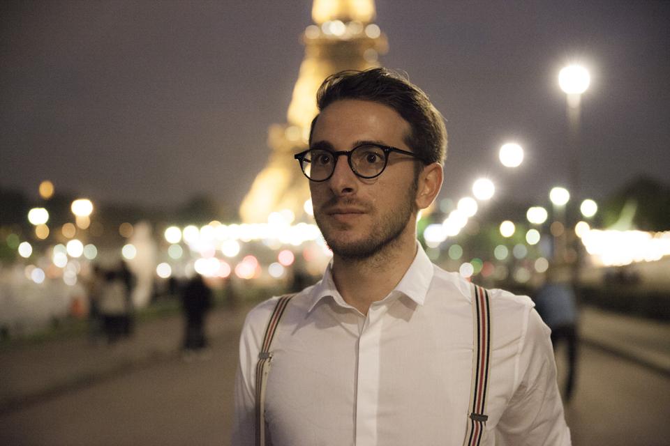 Tony portrait Tour Eiffel