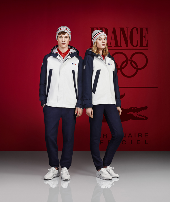 lacoste france jeux olympiques