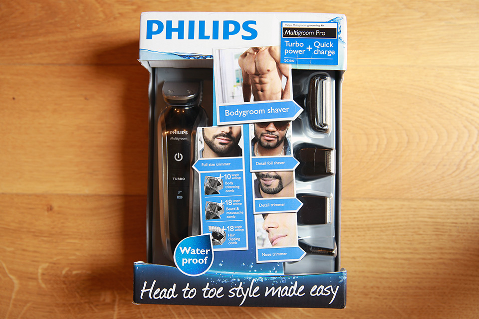 Philips Multistyles Packaging