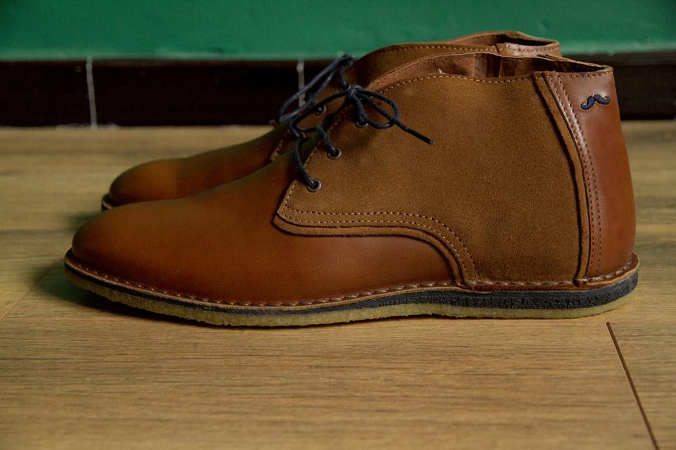 desert boots fernand moustache