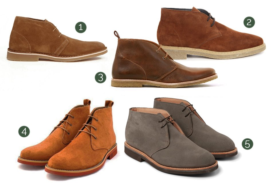 boots pour homme comment les choisir desert chukka ou chelsea boots. Black Bedroom Furniture Sets. Home Design Ideas