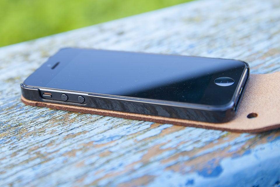 Etui cuir Iphone