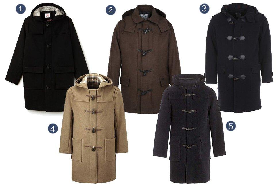 selection duffle coat automne hiver 2018