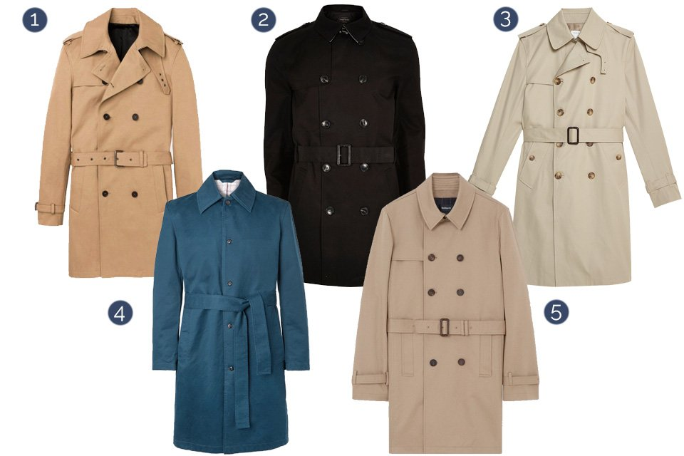 selection trench automne hiver 2018