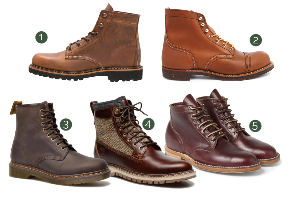 workwear boots homme
