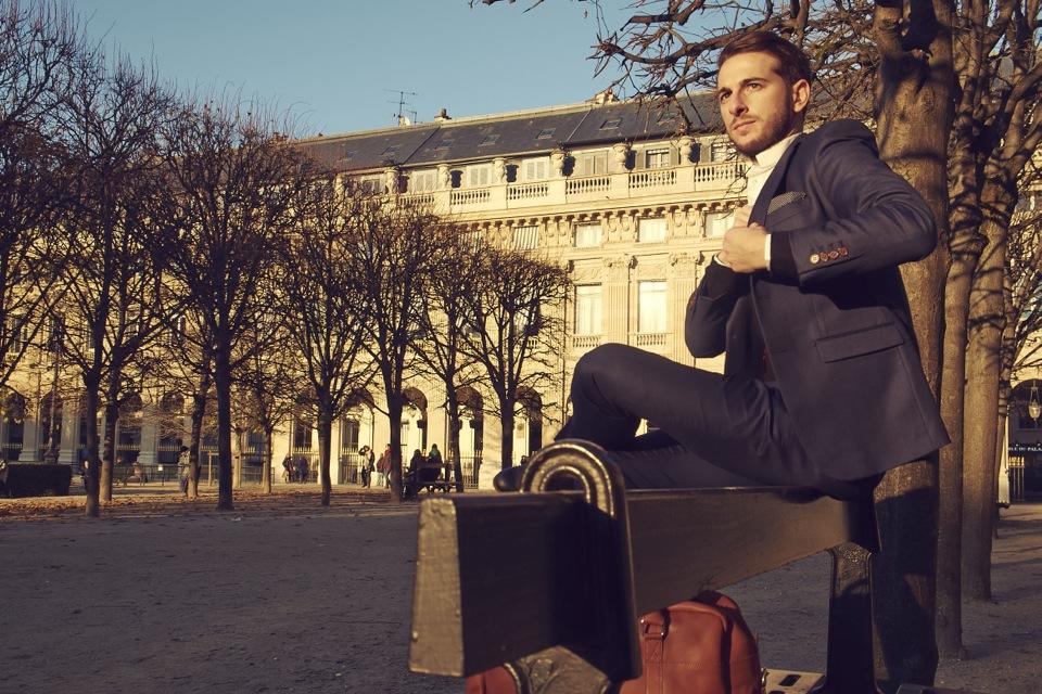 Tony Palais Royal banc