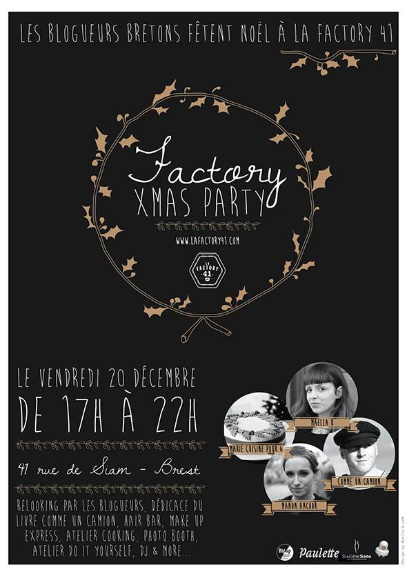 Affiche Factory 41 x-mas