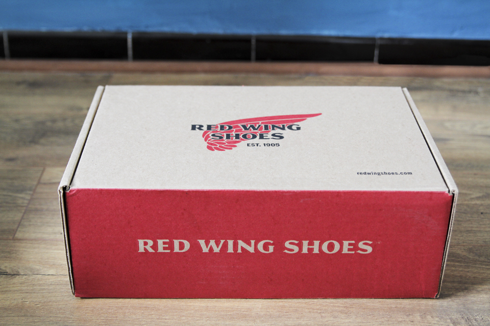 boite red wing shoes