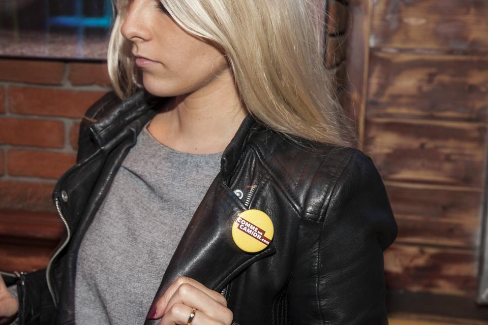 Caroline badge
