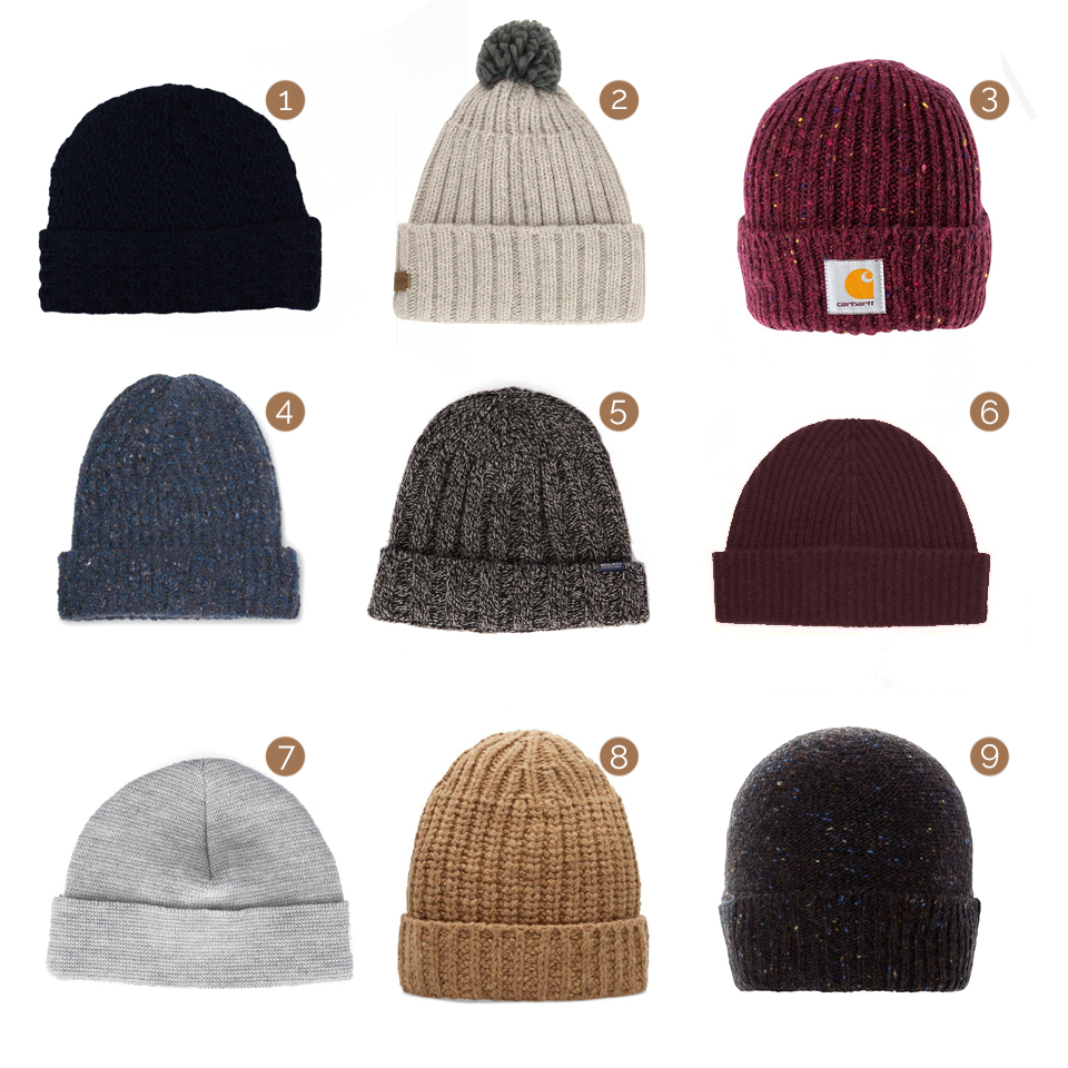 selection bonnets homme