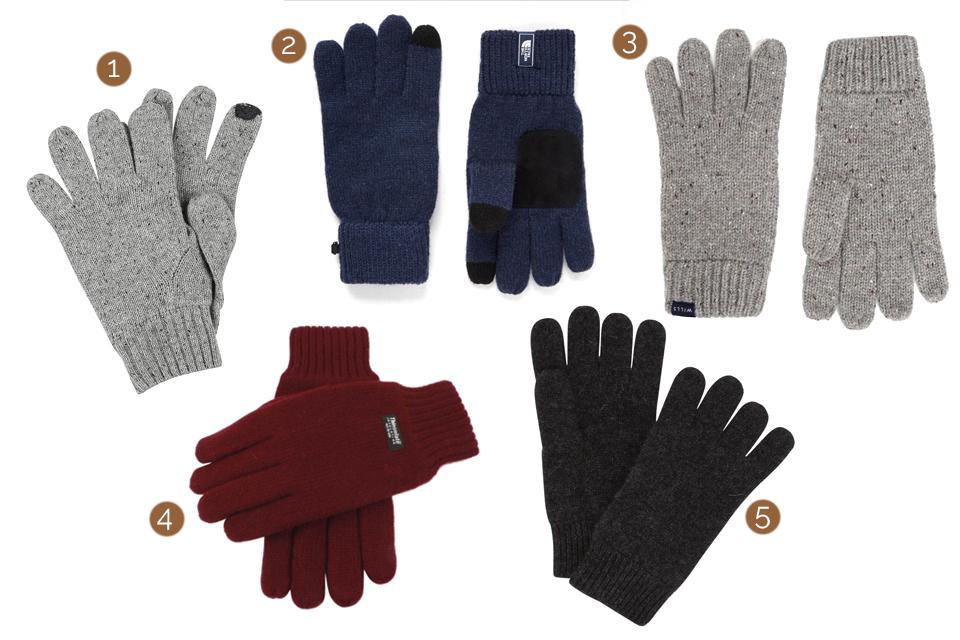 selection gants homme