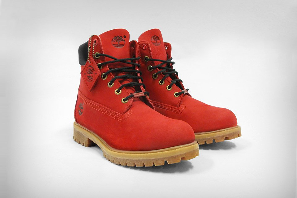 timberland rouge bordeaux