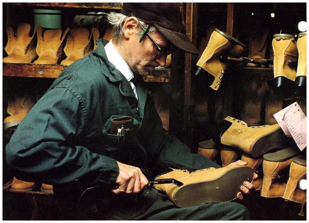 yellow boot fabrication timberland