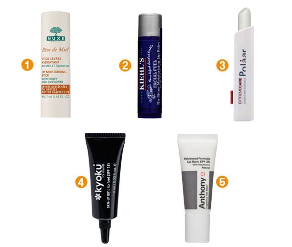 baume-a-levres-selection-maquillages
