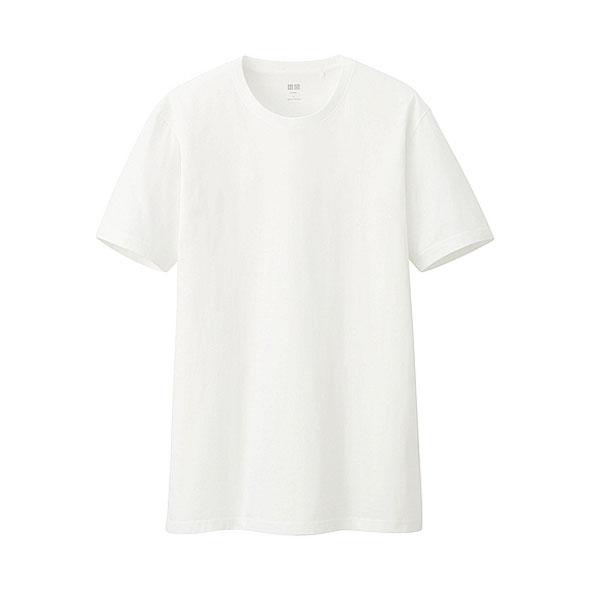 t-shirt-blanc-col-rond-uniqlo