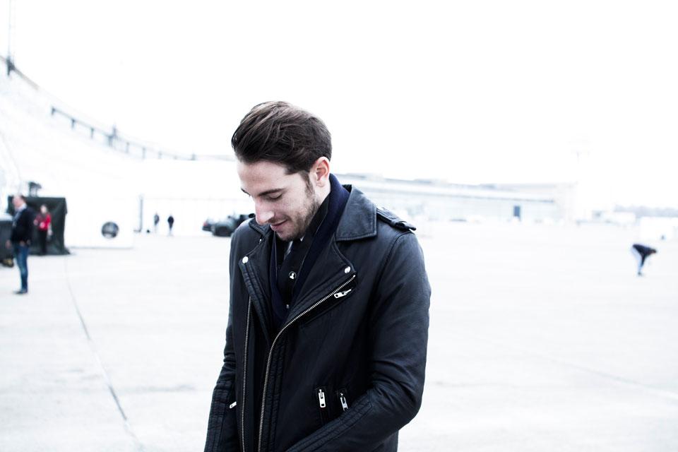 Tony sourire Tempelhof