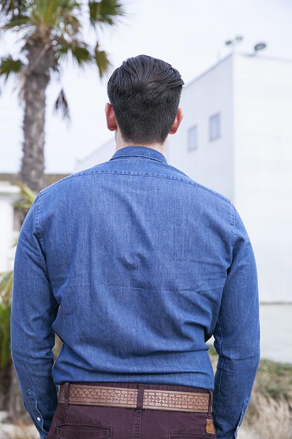 Chemise jeans Maison Standards Dos