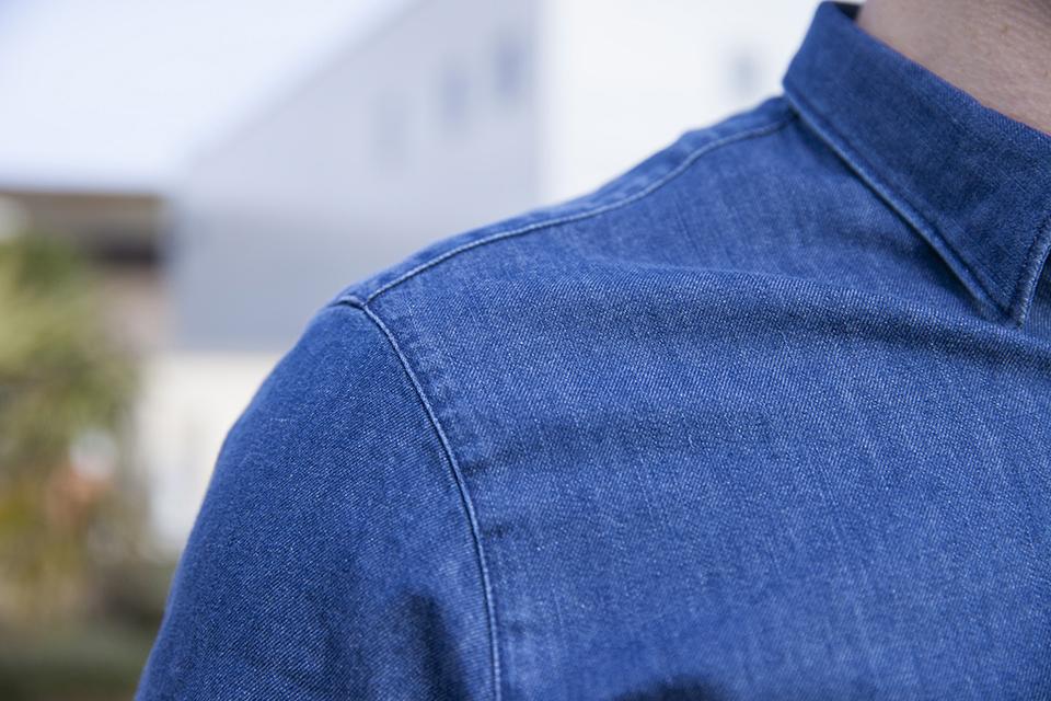Chemise jeans Maison Standards Epaules